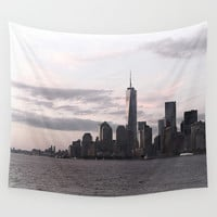 New York City Wall Tapestry by Haroulita!! | Society6