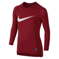 Nike Pro Combat Hypercool Compression HBR Long-Sleeve Boys' Shirt