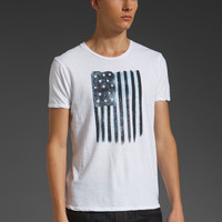 SCOTCH & SODA American Flag Tee in American Flag at Revolve Clothing