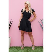 Cool And Casual Dress (Black)