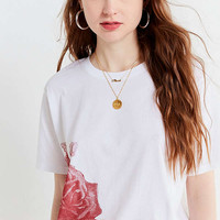 Project Social T Floral Side Tee | Urban Outfitters