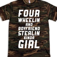 Green T-Shirt | Cute Girly Hunting Shirts