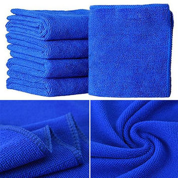 5Pcs  Soft Absorbent Car Wash Cloth
