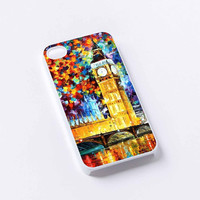 tower big ben colorfull iPhone 4/4S, 5/5S, 5C,6,6plus,and Samsung s3,s4,s5,s6
