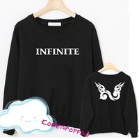 Infinite inspirit longsleeve sweater hoodie kpop New sunggyu L