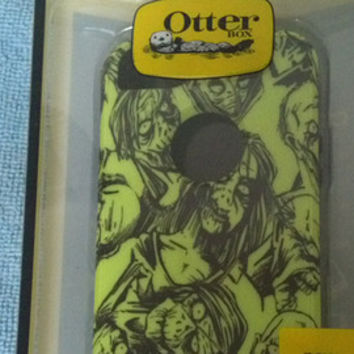 iPhone 6 PLUS iPhone 6 + Otterbox Commuter, Halloween, Living Dead, Custom Otterbox, Zombies, Zombie, Walking Dead Style,