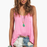 Basic Pocket Tank Top $24