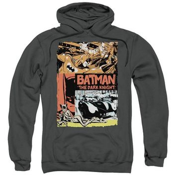 ac NOOW2 Batman - Old Movie Poster Adult Pull Over Hoodie