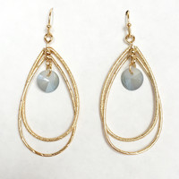 Sea Salt Hoop Earrings