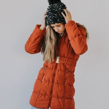BF: Steamboat Puffer Jacket (Red)