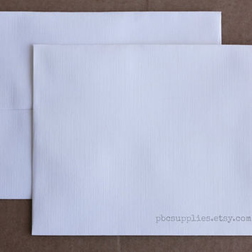 "25 Soft White A2 stationery envelopes, blank envelopes for invitation, weddings, mail RSVP Thank You 4 3/8"" X 5 3/4"""