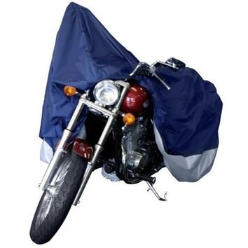 Dallas Manufacturing Co Motorcycle Cover - Large - Model A Fits Models Up To 1100cc With or Without Accessories