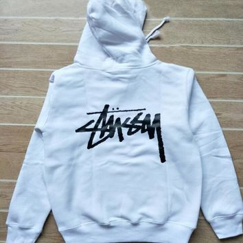 Stussy Casual Hoodie Drawstring Top Sweater Sweatshirt