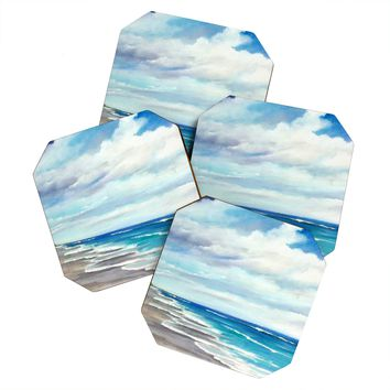 Rosie Brown Beach 1 Coaster Set