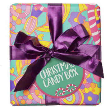Christmas Candy Box Wrapped Gift