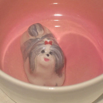 "Shih-tzu Surprise Mug ""Second"""