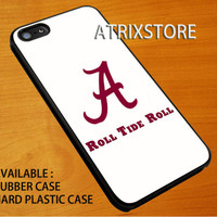 alabama roll tide roll ,Accessories,Case,Cell Phone,iPhone 5/5S/5C,iPhone 4/4S,Samsung Galaxy S3,Samsung Galaxy S4,Rubber,08-07-6-Ig