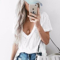 Sweet Distressed Tee