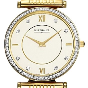 Wittnauer Stratford Collection Sapphire Men's Diamond Watch 12E23