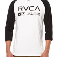 RVCA Associate Raglan T-Shirt - Mens Tee