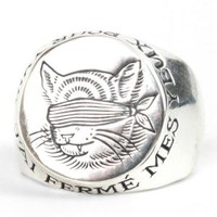 Catbird :: shop by category :: JEWELRY :: Gauguin Cat Signet Ring