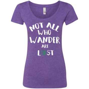Not All Who Wander are Lost Travel T-Shirt
