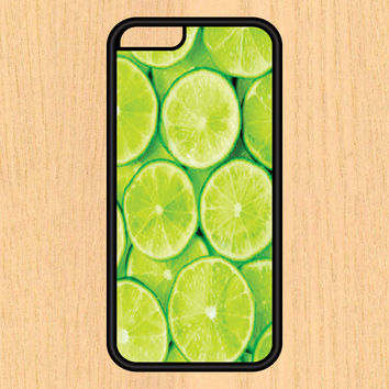 Lime Slices Print Design Art iPhone 4 / 4s / 5 / 5s / 5c /6 / 6s /6+ Apple Samsung Galaxy S3 / S4 / S5 / S6