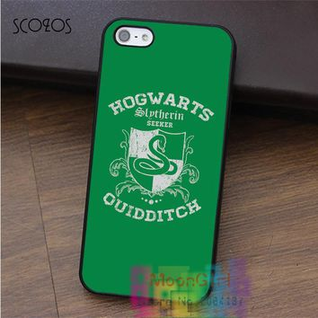 SCOZOS slytherin harry potter (13) cell phone case for iphone X 4 4s 5 5s 5c SE 6 6s 6 plus 6s plus 7 7 plus 8 8 plus #qx0957