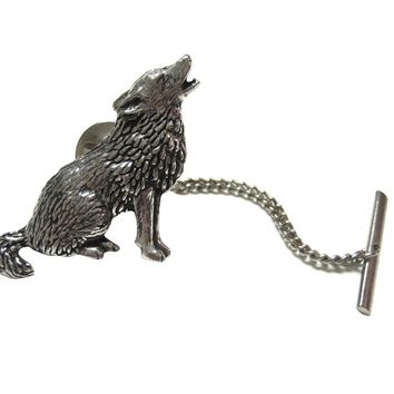 Howling Wolf Tie Tack