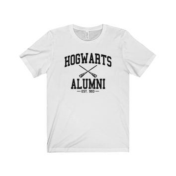 Harry Potter Hogwarts Alumni Unisex Jersey Short Sleeve Tee