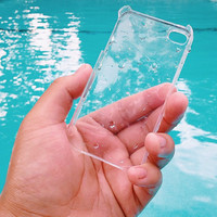 CRYSTAL CLEAR CASE Hipster Grunge Teen for iPhone 5, 5s and c