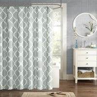 Madison Park Essentials Merritt Shower Curtain|Designer Living