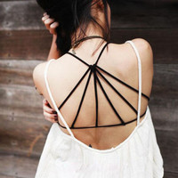 Cara Cross Back Bralette from Now and Again Co.