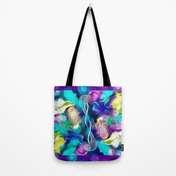 Voice Tote Bag by violajohnsonriley