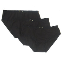 Esme Girl's Panty Packs 3pcs - Black