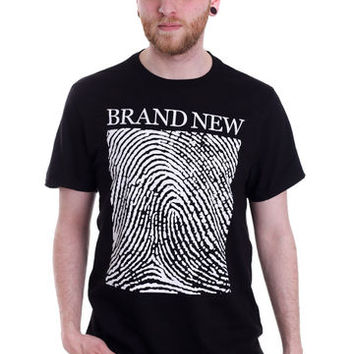 Brand New - Fingerprint - T-Shirt