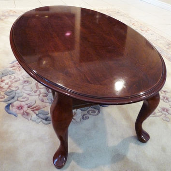 Queen Anne Style Coffee Table and End Tables