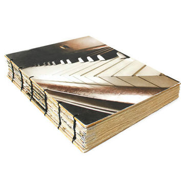 Graduation Gift Performing Arts - Handmade Heirloom Piano Journal - As Displayed at the GBK MTV Movie Awards Event