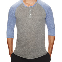 Baseball Henley Shirt