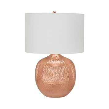 8994-002 Praha 1 Light Table Lamp In Polished Copper - Free Shipping!