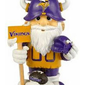 """""""Minnesota Vikings NFL Garden Gnome 11"""""""" Thematic - Second String"""""""