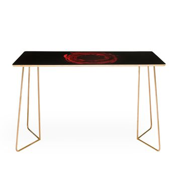 Viviana Gonzalez Abstract Circle 3 Desk