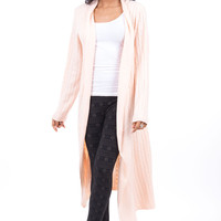 Knitted Cardigan With Waterfall Front PLUS SIZE AVAILABLE