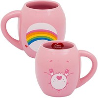 Cheer Bear Care Bears Oval Ceramic Coffee Mug