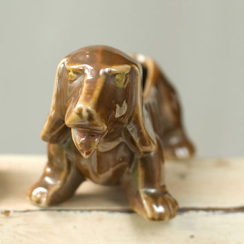 Vintage Dachshund Planter Small by My3Chicks on Etsy