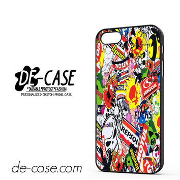 Sticker Bomb Racing All Brand DEAL-10160 Apple Phonecase Cover For Iphone 5 / Iphone 5S