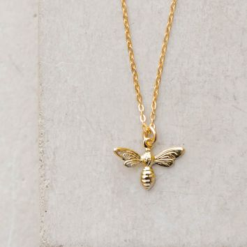 Tiny Hornet Necklace