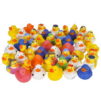 50 or 100 Rubber Duckies Novelty Assortment