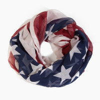 Stars and Stripes Infinity Scarf $14