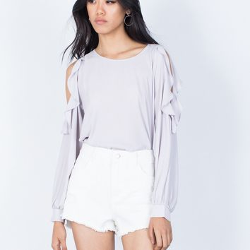 Ruffles for Days Blouse